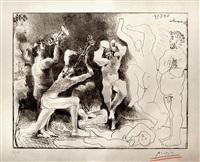 la danse des faunes by pablo picasso
