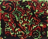 system - erwachen by a.r. penck