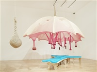 egg bed crystal shell a by ernesto neto
