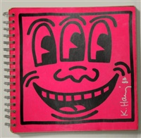 tony shafrazi gallery book by keith haring