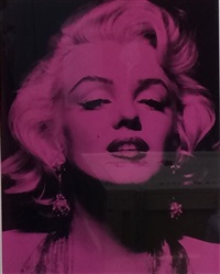 marilyn portrait iv by russell young