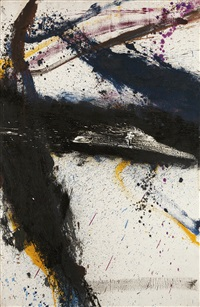 untitled x by norman bluhm