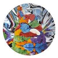 play-doh service plate by jeff koons