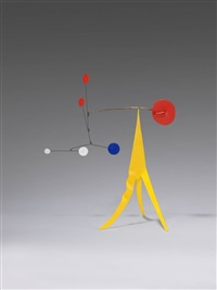 yellow crinkly by alexander calder