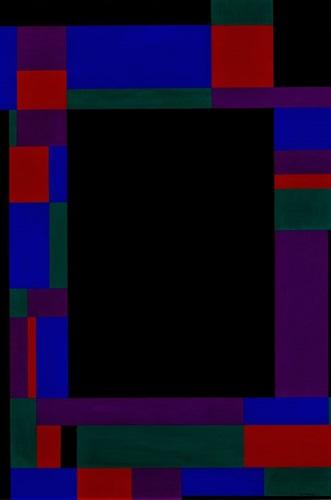 black rectangle by ilya bolotowsky