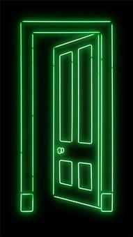 green door by gavin turk