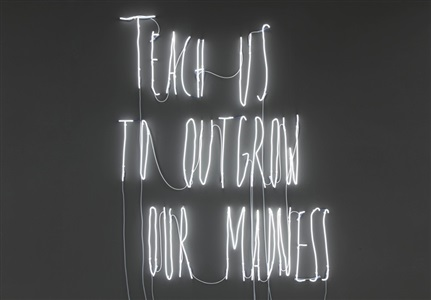 teach us to outgrow our madnessartists of the gallery by alfredo jaar