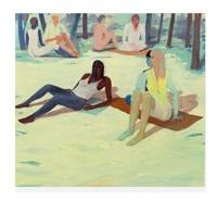 les filles sur l'herbe by jules de balincourt