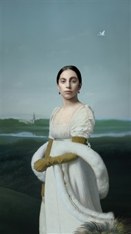 lady gaga: mademoiselle caroline riviere, 2013 by robert wilson