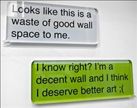 waste of good wall space by desire obtain cherish