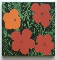 warhol flowers by sturtevant