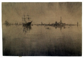 nocturne by james abbott mcneill whistler