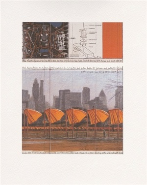 the gates: project for central park, new york city (c) by christo and jeanne-claude