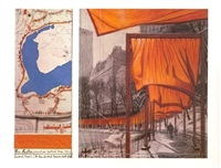 the gates: project for central park, new york city (b) by christo and jeanne-claude