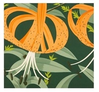 superb lilies (maravell 62) by alex katz