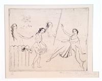 les jeunes filles or le ballet by marie laurencin
