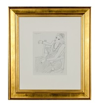dessins, thémes et variations, p3 by henri matisse