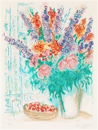 le grand bouquet by marc chagall