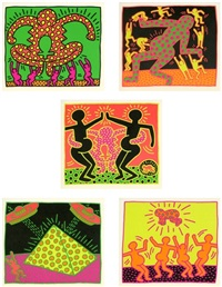untitled (fertility suite) by keith haring