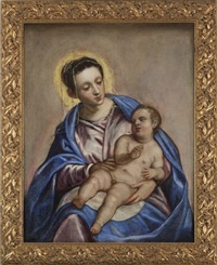 virgin and child by jacopo robusti tintoretto