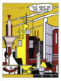 this must be the place by roy lichtenstein