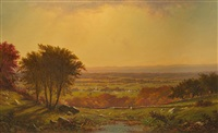 indian summer, massachusetts by alfred thompson bricher