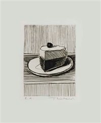 slice of pie by wayne thiebaud