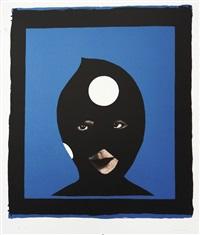 warhol's pawns- blue by marcel dzama