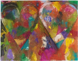 two bells in the sand by jim dine
