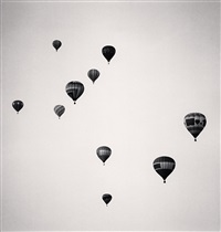 ten balloons, albuquerque, new mexico, usa by michael kenna