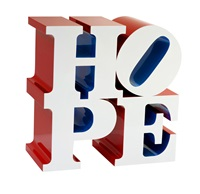 hope (white/blue/red) by robert indiana