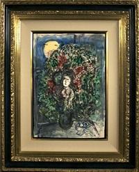 le jour de mai devant la fenêtre by marc chagall