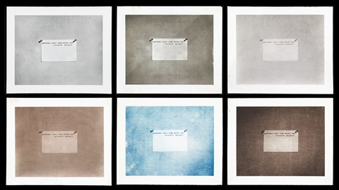 photography before the age of mechanical reproduction by mel bochner