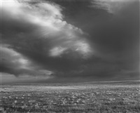 storm over the pawnee national grassland, colorado by robert adams