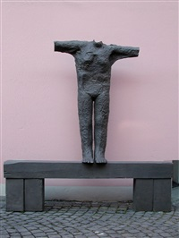 first open arm figure by magdalena abakanowicz