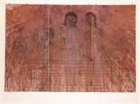 grablegung, triptychon by hermann nitsch