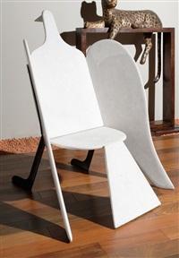 fauteuil oiseau de marbre by françois-xavier lalanne