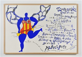 dear diary (temperance) by niki de saint phalle