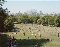#4375, london, greenwich park by massimo vitali