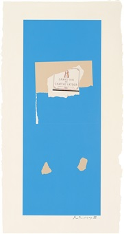 summer light series: pauillac, no. 4 by robert motherwell