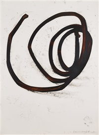 underterminated line d-­-2 by bernar venet