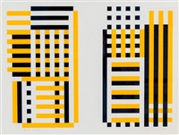yellow composition by josef albers