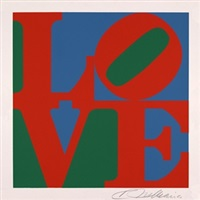 love, the american dream by robert indiana