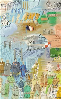 la fee electricite (vii) by raoul dufy