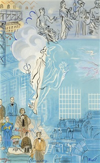 la fee electricite (v) by raoul dufy