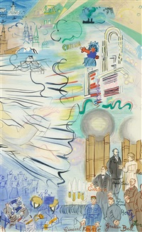 la fee electricite (ii) by raoul dufy