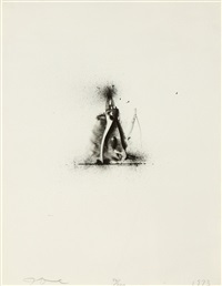 ten winter tools (pliers & crescent wrench) by jim dine