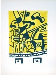 les marins (the sailors) by fernand léger