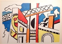 le viaduct by fernand léger