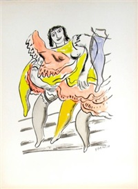 le moulin rouge by fernand léger